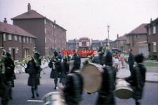 PHOTO  1960 ISLEWORTH GIRL PIPERS IN MAGDALA ROAD WHILST TAKING PART IN A PAGEAN