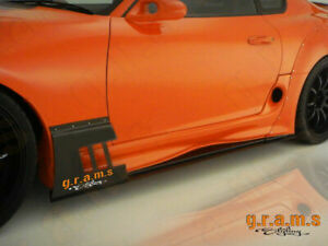 Toyota Supra Ridox Style Side Skirts with REAL CARBON Lower Lip v8