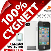 Cygnett Apollo Case Protective Hard Shell Cover Hybrid for Apple iPhone 4 / 4S