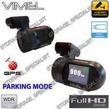 Dash Camera Vimel GPS Security Parking mode Super capacitor FullHD 1080P