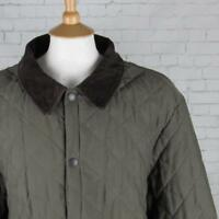 MENS BARBOUR ESKDALE QUILTED JACKET COAT COUNTRY WEAR CASUALS GREEN XL