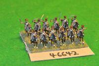15mm 19th century / russian - crimean war cossacks 12 figs - cav (46642)