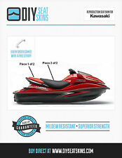 KAWASAKI ULTRA 300X 250 260 310 BLACK RED Seat Skin Cover 07 08 09 10 11 12 13+