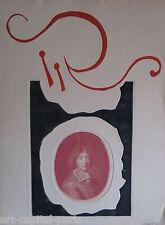 YANNICK BALLIF BALIF GRAVURE 1968 SIGNÉE CRAYON  ANNOTÉE EE HANDSIGNED ETCHING