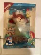 New Tyco Disney Holiday Ariel Little Mermaid Doll NRFB w/ Accessories