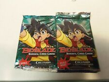 BEYBLADE TCG COLLISION BOOSTER PACKS X2 FACTORY SEALED