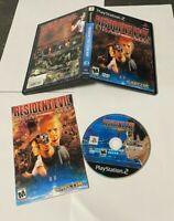 Resident Evil: Dead Aim (Sony PlayStation 2, 2003) COMPLETE MATURE FAST SHIPPING