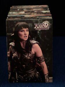 XENA Warrior Princess Complete Base Trading 72-Card Set Series 3 NO RESERVE