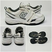New Balance 409 White Leather Cross Walking Running Trainer Shoes Men's 8