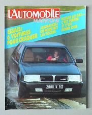 L AUTOMOBILE MAGAZINE - N° 463 - JANVIER 1985 *