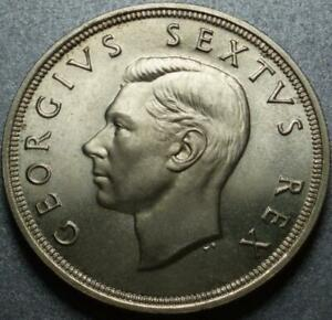 "1952 ONLY Founding of SOUTH AFRICA Silver 300 Years COMMEMORATIVE ""5 SHILLINGS"""