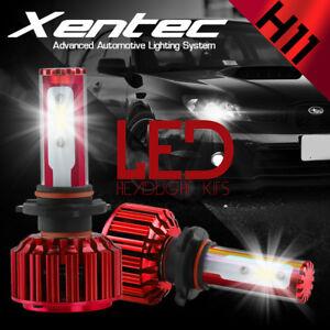 XENTEC LED HID Headlight kit H11 White for Hyundai Elantra Coupe 2013-2014