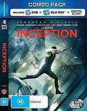 INCEPTION : NEW Blu-Ray / DVD / Digital Combo