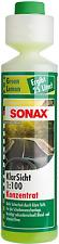 SONAX KlarSicht 1:100 Konzentrat Green Lemon 386141 Sichere Sicht Antikalkeffekt