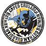 Batman Caped Crusader Round Metal Tin Sign 12 x 12in