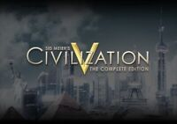 Sid Meier's Civilization V 5 Complete Edition PC Steam [KEY ONLY!]  GLOBAL