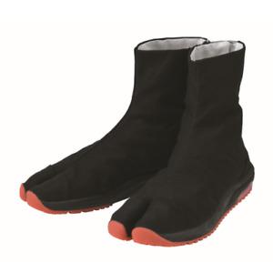 Japanese Cushioned Tabi Shoes Air Jog V 6 clasps Toe Boots Short Version