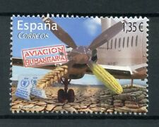 Spain 2017 MNH Humanitarian Aviation 1v Set Planes Stamps