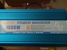 Pure Sine Wave Inverter 1500W  12V to 220v  50hz  Brand New BELTTT