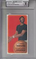 1970-71 Topps Card #130 Connie Hawkins SUNS Z23254 - GAI NmMt 8 - GAI NmMt (8)