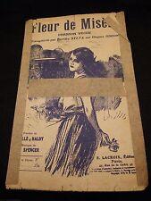 Partitura Flor de la miseria Berthe Sylva Music Sheet