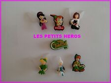 7 PINS CLIPS CROCS CHAUSSURE  BRACELET PETER PAN FEE CLOCHETTE   NEUF