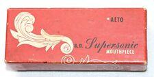 rare vintage Zimberoff by Dukoff Supersonic Alto Sax Mouthpiece NR