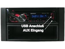 Kenwood Radio Ford Focus Bj 04 - 07 CD MP3 USB Lenkradfernbedienungs Adapter
