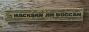 "(1988) Vintage WWF Hacksaw Jim Duggan Live Event Foam 2x4 ""Board""!"