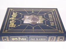 easton press HARRY POTTER Page to Screen: complete filmmaking journey Bob McCabe
