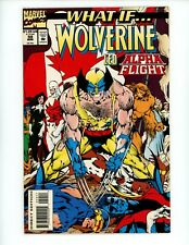 New listing What If #59 1994 Vf- 2nd Series Watcher Tv Series Wolverine led Alpha Flight