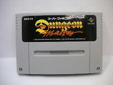 DUNGEON MASTER Nintendo  SNES SFC Japan F/S