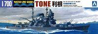 Aoshima 1/700 Japonais Marine Cruiser Ton Modèle Plastique Kit de Japon Neuf