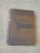 The Government Class Book, A. W. Young, 1890, Vintage, Law