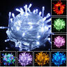 32FT 100 LED Christmas Tree Fairy String Party Lights Lamp Xmas Waterproof Decor