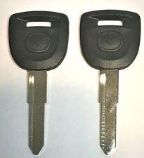 2 Mazda MZ34 / MAZ24RT17 Transponder Chip Key 2004-2011 Black Logo Top Quality