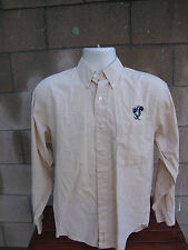 Aerospace Collectible Lockheed Skunk Works Embroidered Gingham Button Shirt S