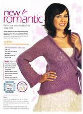 Odette Marie Wallin Knitting Pattern de Magazine-Wrap Cardi
