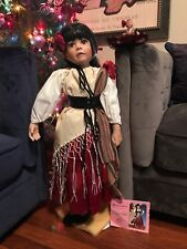 """Paradise Galleries Chiquita By Linda Murray 30"""" Porcelain Doll,love Around The🌎"""