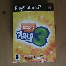 Eyetoy 3 Camera and game PS2