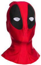 Marvel Deadpool Costume Fabric Overhead Mask Adult One Size.