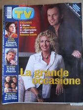 TV Sorrisi e Canzoni n°36 2002 Miguel Bosè Rossana Casale Matia Bazar  [D54]