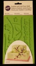 Wilton Fondant and Gum Paste Mold - Nature Designs and Bonus Step by Step...