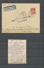 1935 Env. ALGER/AEF, 1er jour de l'emploi de la griffe, Superbe X4864