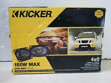KICKER 46CSC464 CAR AUDIO STEREO 4X6
