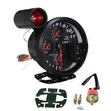 11K RPM 4 in 1 Drehzahlmesser Öl Druck Wasser Öl Temperatur Instrument Anzeige