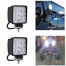 LED Arbeitsscheinwerfer 2X 48W Offroad Scheinwerfer Traktor Bagger SUV 12V 24V