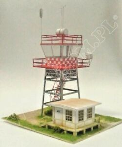 Airfield Control Tower 1:48 scale Control Tower Model Kit (LASERCUT PARTS) NEW