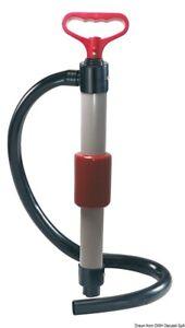Manual Double-Acting Hand Bilge Pump - 100cm Drain Hose
