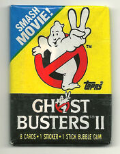 Ghostbusters II (Topps, 1989) Wax Pack - Ghostbusters 2